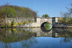 Bridge at Frank Melville Park Royalty Free Stock Photography