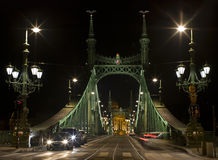 Bridge of Freedom, Budapest Royalty Free Stock Image