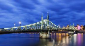 Bridge of Freedom in Budapest Stock Photos