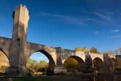 Bridge in Frias Stock Image