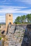 Bridge of Frias, in Burgos, Spain. Royalty Free Stock Images