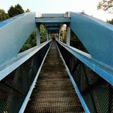Bridge front view Royalty Free Stock Photo