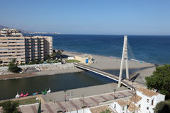Bridge in Fuengirola, Andalusia Spain Stock Images