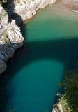 Bridge Furore village, Conca dei Marini, Amalfi peninsula Stock Image