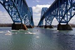 bridge główną wyspę Obrazy Stock