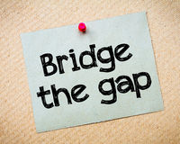Bridge the gap Royalty Free Stock Images