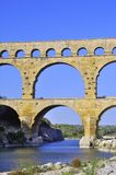 The bridge of Gard Royalty Free Stock Photo