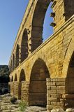 The bridge of Gard Stock Images