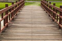 bridge in garden Stock Photography