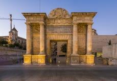 Bridge Gate in Cordoba, Spain Stock Photography