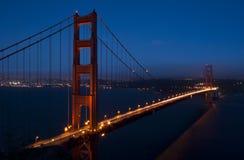 bridge gate golden Στοκ Εικόνες