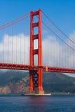 bridge gate golden Στοκ Φωτογραφία