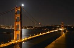 bridge gate golden Στοκ Φωτογραφίες