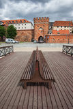 Bridge Gate to The Old Town of Torun Royalty Free Stock Photos