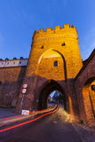 Bridge Gate in Torun Royalty Free Stock Photos