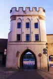 Bridge Gate in Torun Royalty Free Stock Images