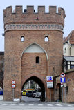 Bridge gate of Torun in Poland Royalty Free Stock Photos