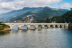 Bridge of Geres national park. North of Portugal royalty free stock photography