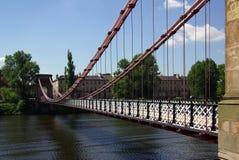 Bridge in Glasgow, Scotland. In summer day Stock Photos