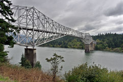 Bridge of the Gods. Over the Columbia River Royalty Free Stock Image
