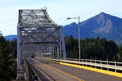 Bridge of the gods, Oregon. Stock Images