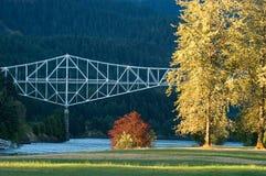Bridge of Gods, Oregon Stock Photo