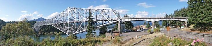 Bridge of the Gods Panorama Stock Images