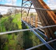 Bridge overflow royalty free stock photography