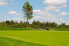 Bridge golf Stock Photography