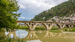 Bridge Gorica over the river Osum Royalty Free Stock Photography
