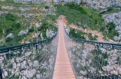 Bridge on the Gravina di Matera, sassi di matera Stock Images