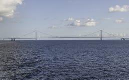 Bridge Great Belt Denmark Stock Images