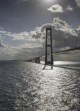 Bridge Great Belt Denmark Royalty Free Stock Photo