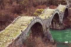 Bridge in Greece Royalty Free Stock Image