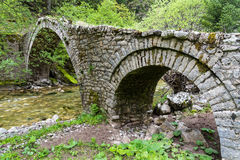 Bridge in Greece Stock Image