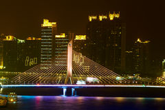 Bridge in Guangzhou Stock Photo