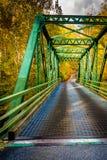 Bridge in Gunpowder Falls State Park, Maryland. Royalty Free Stock Photo