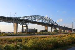 Bridge in Hamilton Stock Image