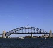 bridge hamnen sydney Arkivbild