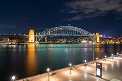 bridge hamnen sydney Royaltyfria Bilder