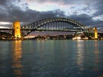 bridge harbour sydney στοκ εικόνα