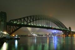 bridge harbour sydney Στοκ εικόνα με δικαίωμα ελεύθερης χρήσης