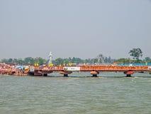 Bridge in Haridwar Stock Photo