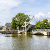 Bridge in Harlingen Royalty Free Stock Images