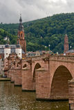 Bridge in Heidelberg Stock Photography