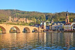 Bridge in Heidelberg Stock Photos