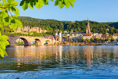 Bridge in Heidelberg Royalty Free Stock Photo
