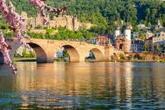 Bridge in Heidelberg Royalty Free Stock Photos