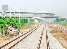 The bridge of high speed train Stock Image