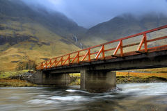 Bridge on highlands Stock Photography
